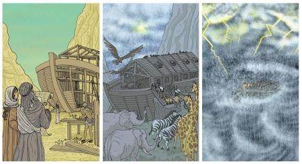 Secuencia Arca de Noé (Ediciones Akal).